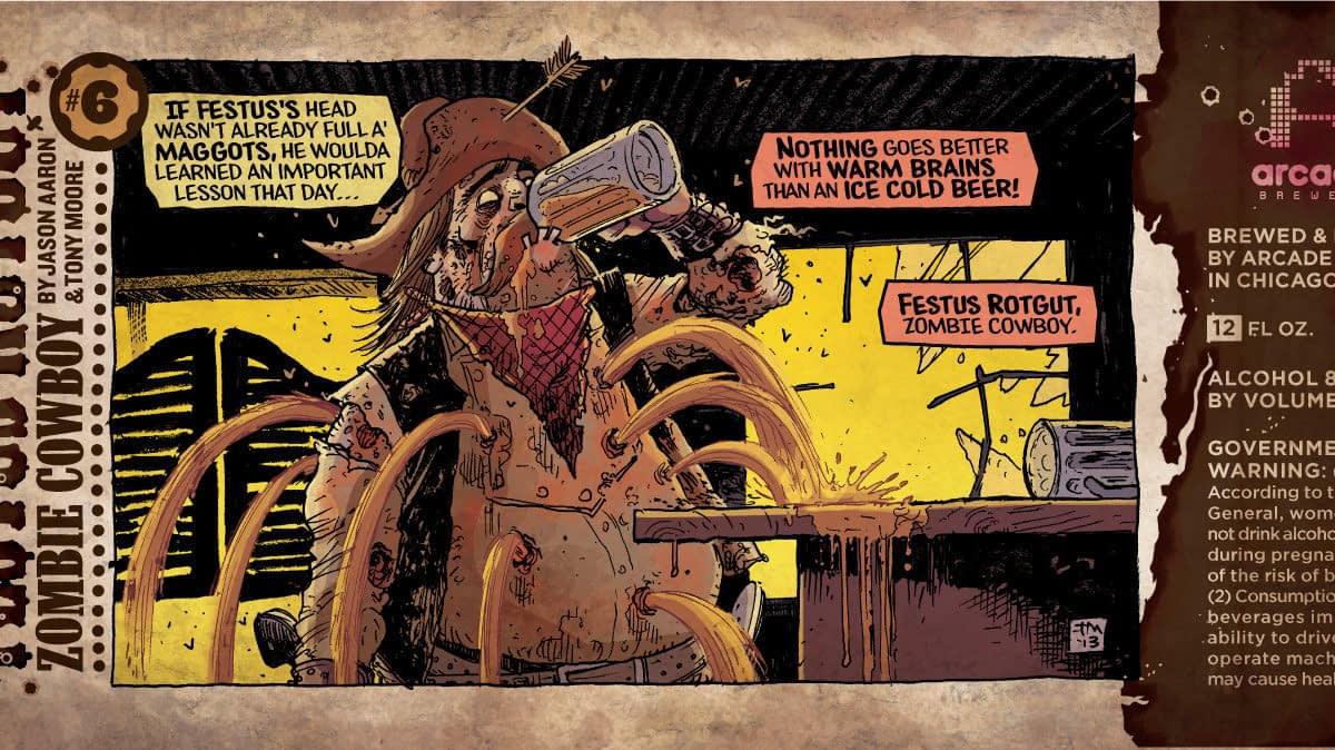 Booze Geek - Festus Rotgut Features Short Comic Strips By Jason Aaron
