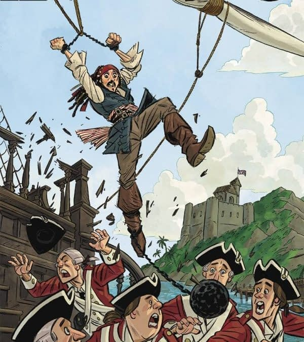 Pirates Of The Caribbean Comic To Tell Untold Tales Of Jack Sparrow, And Other Joe Books Solicitations For August 2016