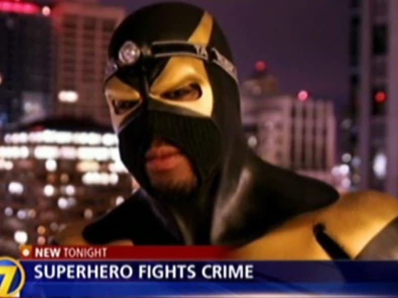VIDEO: Phoenix Jones, Real Life Super Hero