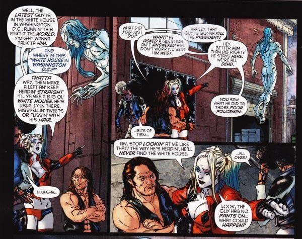 When Harley Quinn Sends Someone To Kill President Trump...? (SPOILERS)