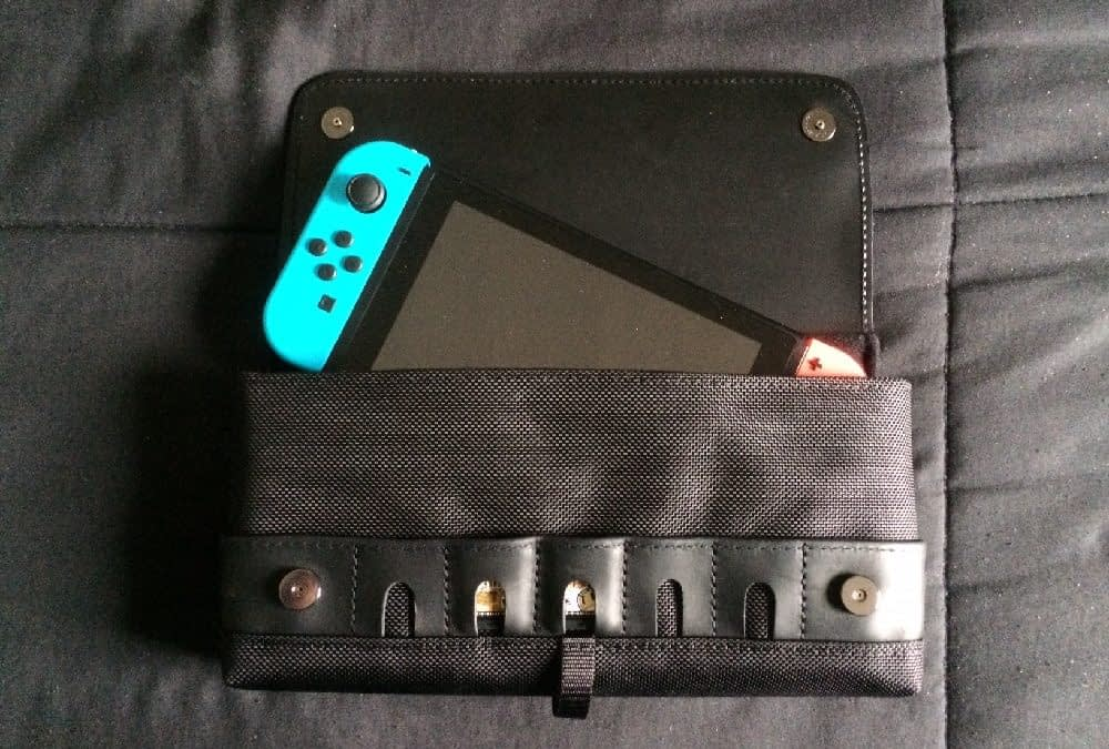 Gaming On The Go: Testing Out The WaterField Switch Case