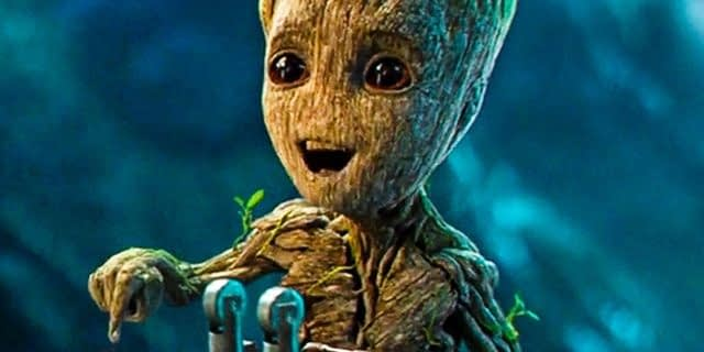Watch James Gunn Bust Out Baby Groot's Dance Moves From GotG Vol. 2
