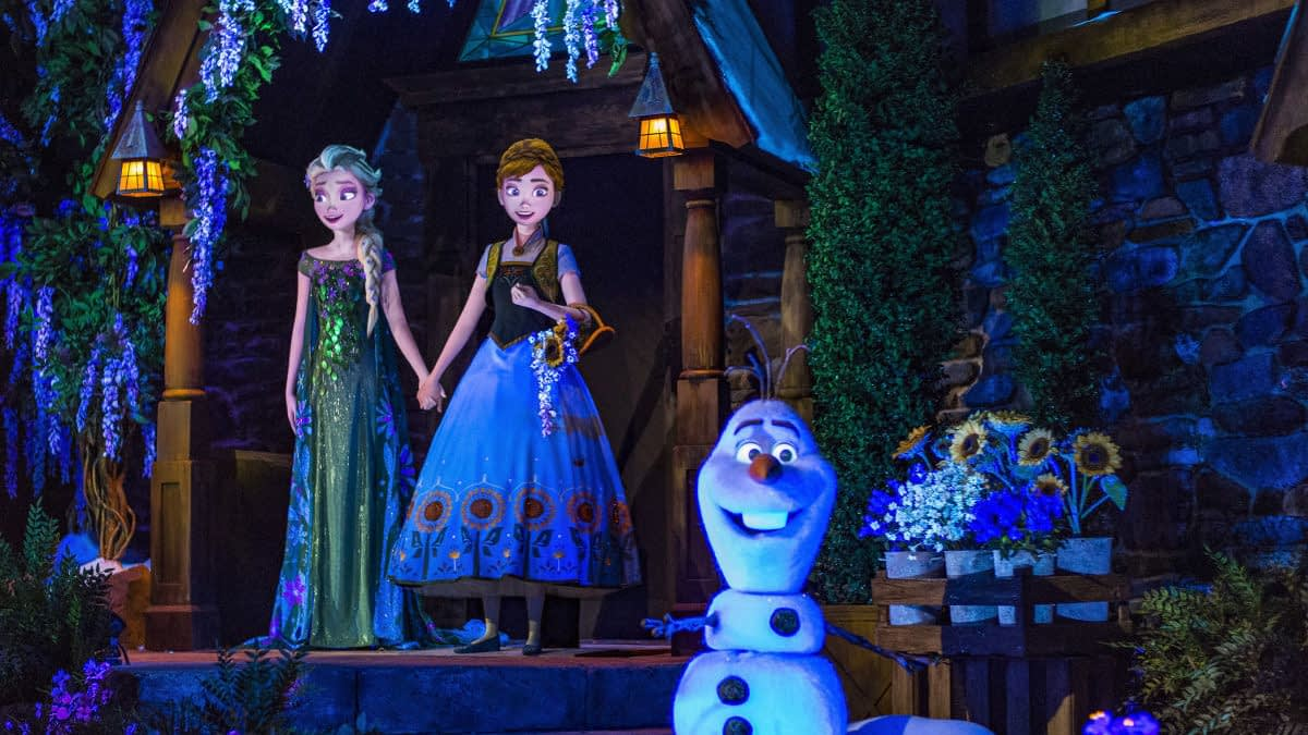 """Epcot To Offer """"Frozen Ever After Dessert Party"""" Package So Your Kids Can Spend More Of Your Money"""