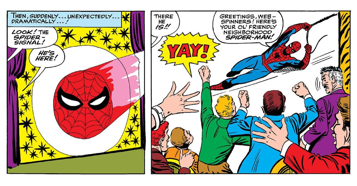 "The Secret Origin Of Spider-Man's ""Friendly Neighborhood"""