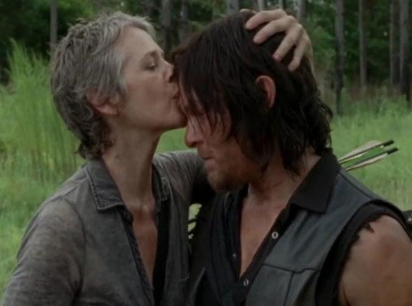 'The Walking Dead' Season 8: Reunited, Carol & Daryl Don't Feel So Good