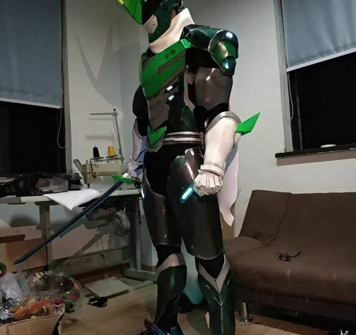 Someone Made Real Sentai Genji Armor From 'Overwatch'!