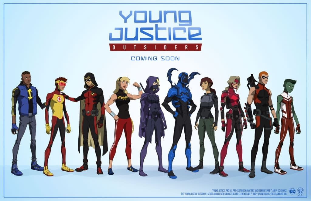 The Young Justice: Outsiders, Revealed - Could This Be Their First Gay Member?