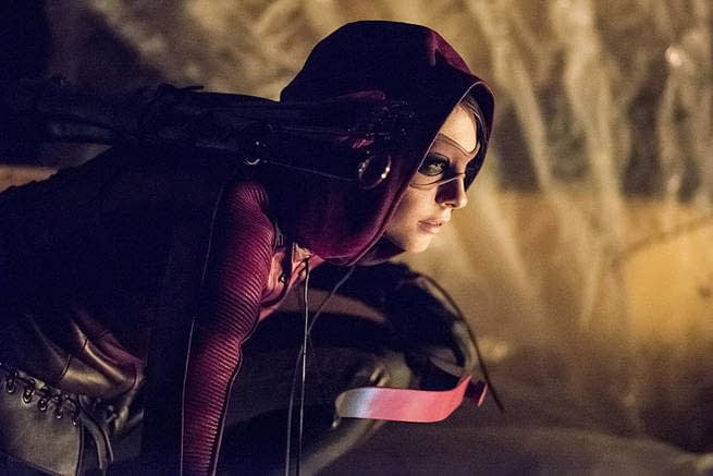 How Grant Gustin Literally Saved Willa Holland's Butt