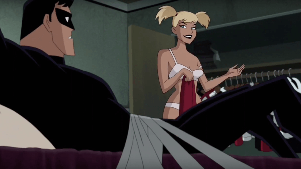 Watch The Nightwing/Harley Sex Scene From 'Batman And Harley Quinn'