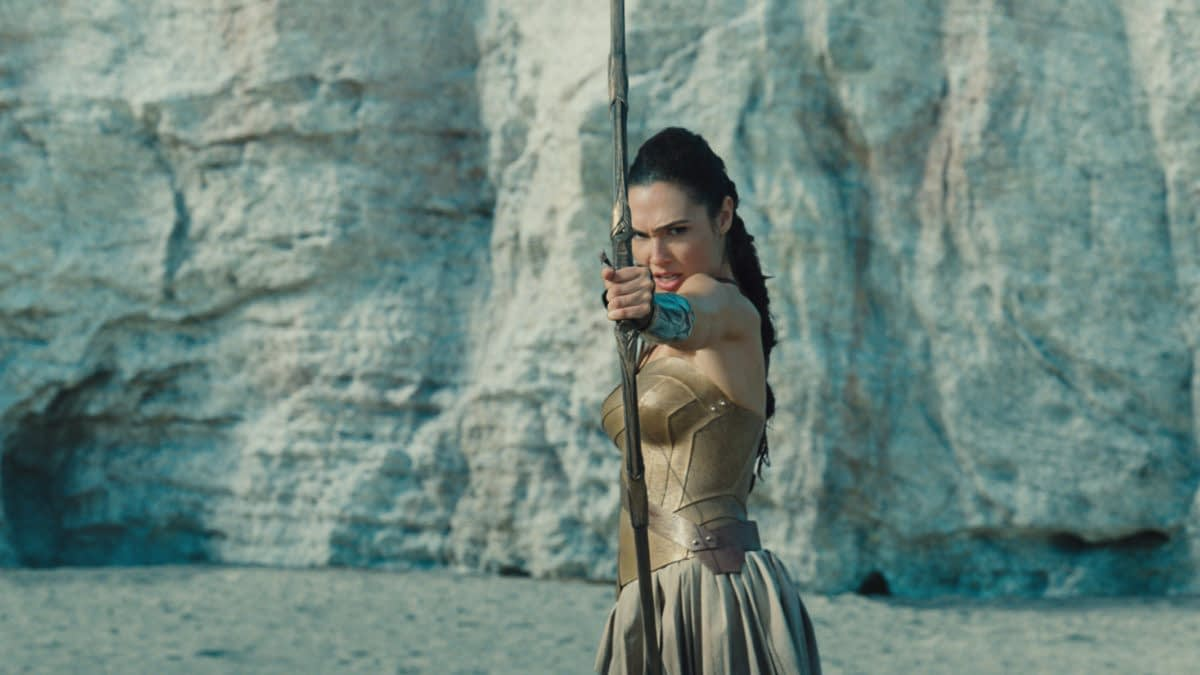 Go Behind-The-Scenes Of The Beach Battle In Wonder Woman