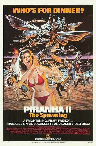 Castle Of Horror: Piranha 2 Is The Best Flying Piranha Movie Ever Filmed In Jamaica
