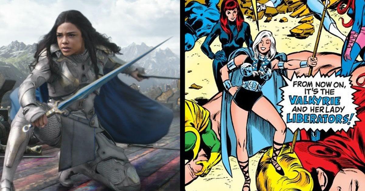 "Thor: Ragnarok's Valkyrie - Tessa Thompson On Breaking The Cliche Of The ""Unconsciously Sexy Badass"""