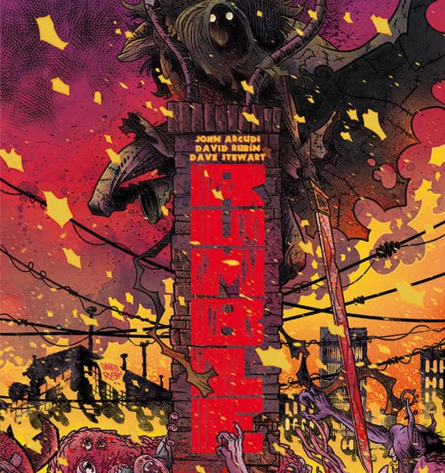 John Arcudi Returns Rumble To Image Comics, Now With David Rubin