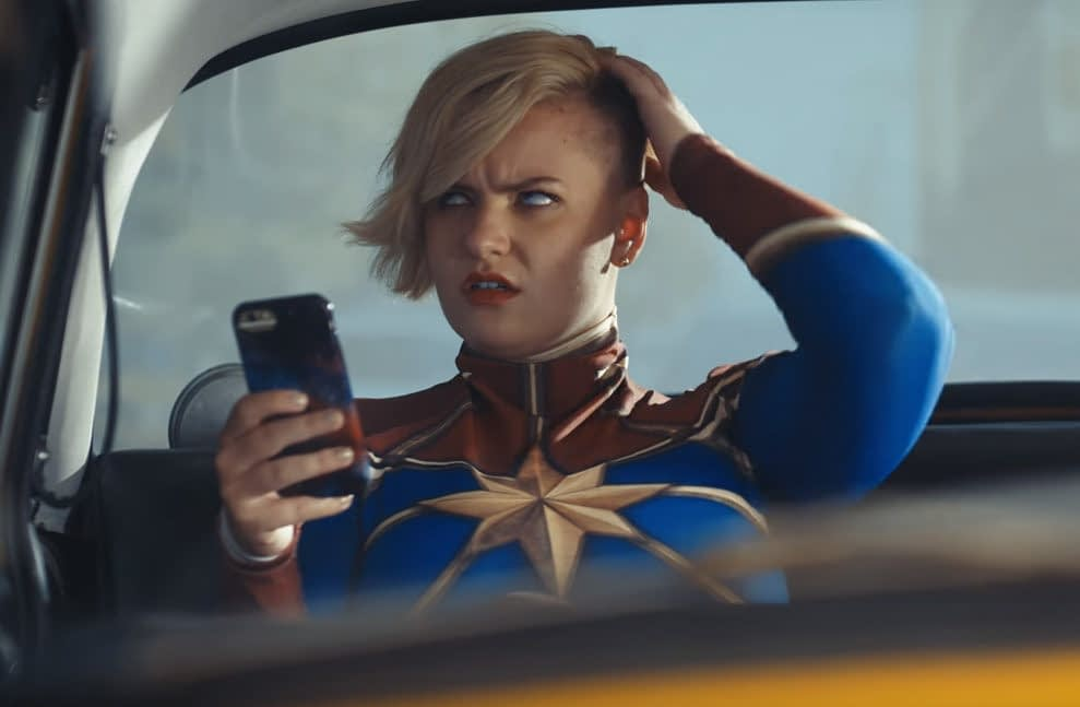 Marvel Promotes Their NYCC Coverage With 'Cosplay In A Cab'