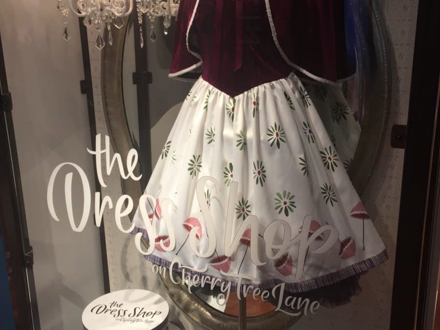 Disney Adds New Haunted Mansion Dress To The Dress Shop!