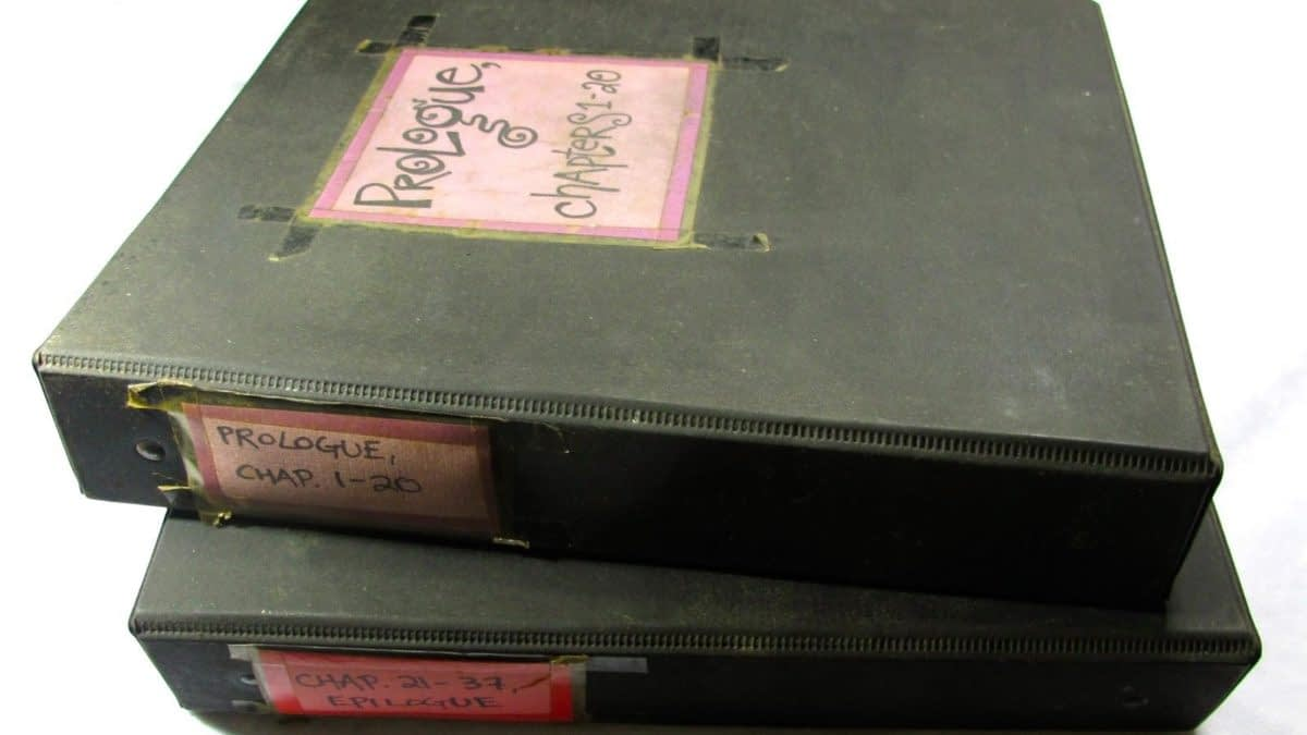 Original Poppy Z. Brite's Lost Souls Manuscript Up For Auction
