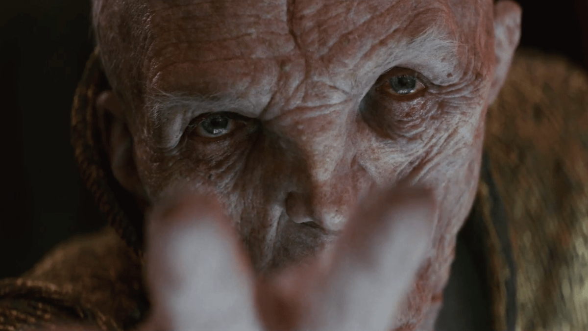 Star Wars: The Last Jedi – Snoke's Hatred Is Personal