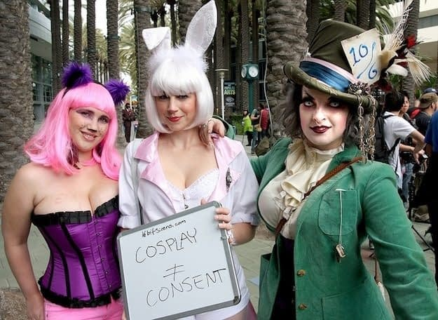Adult-Themed Site Cosplay Deviants Has Trademarked Cosplay is NOT Consent