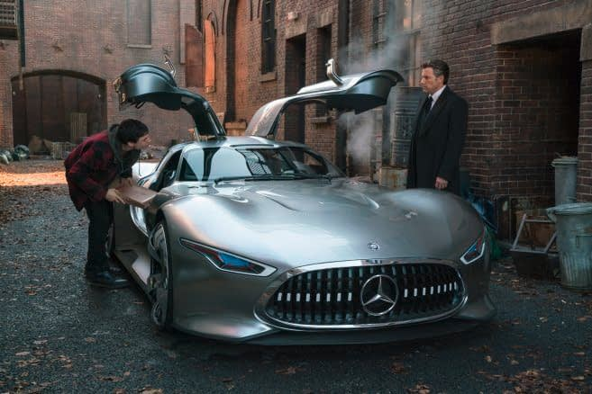Bruce Wayne's Car in Justice League Was a One-of-a-Kind Mercedes-Benz
