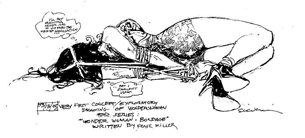 Bill Sienkiewicz And Frank Miller's Wonder Woman: Bondage