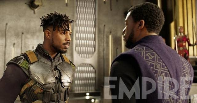 Political Themes and Crafting the Sympathetic Villain of Black Panther