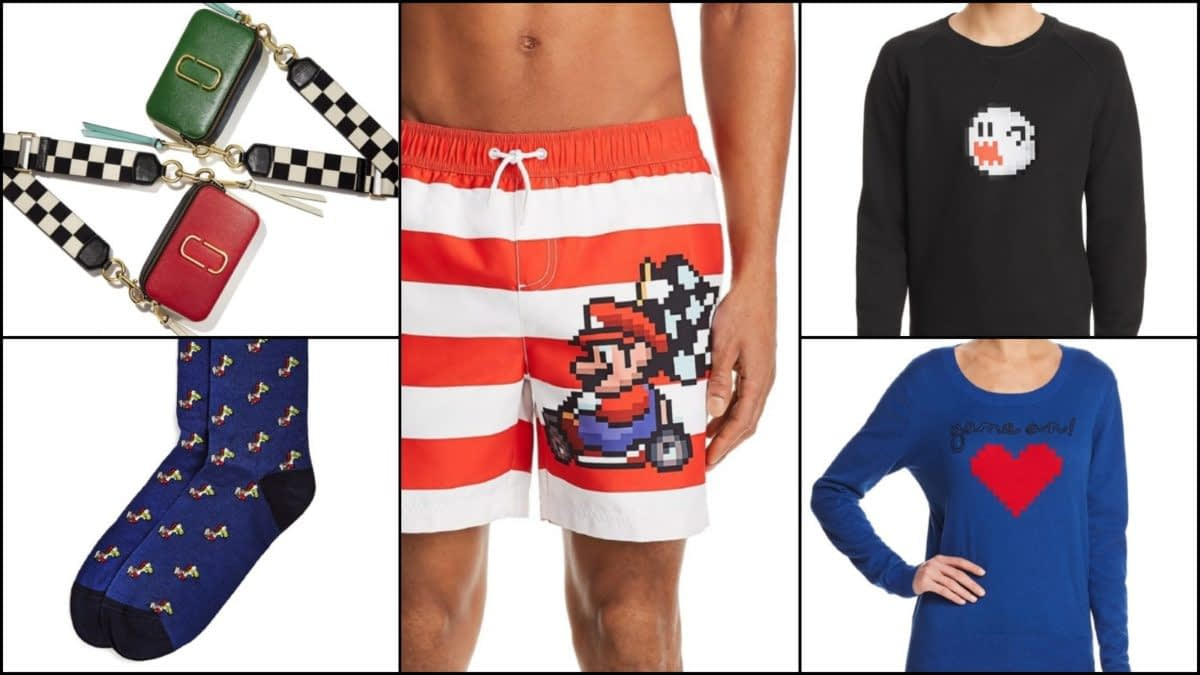"""Bloomingdale's Is Getting a Nintendo """"Let's Play"""" Spring Fashion Line"""