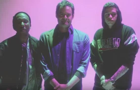 "SNL's Bill Hader Looks a Little Uncomfortable with His ""Tribute Rap"" in New Promo"