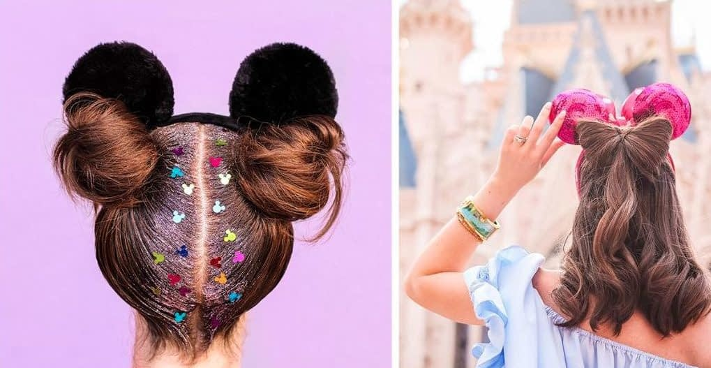 Disney Style Shares Some Adorable Hairstyles to Go with Your Mouse Ears