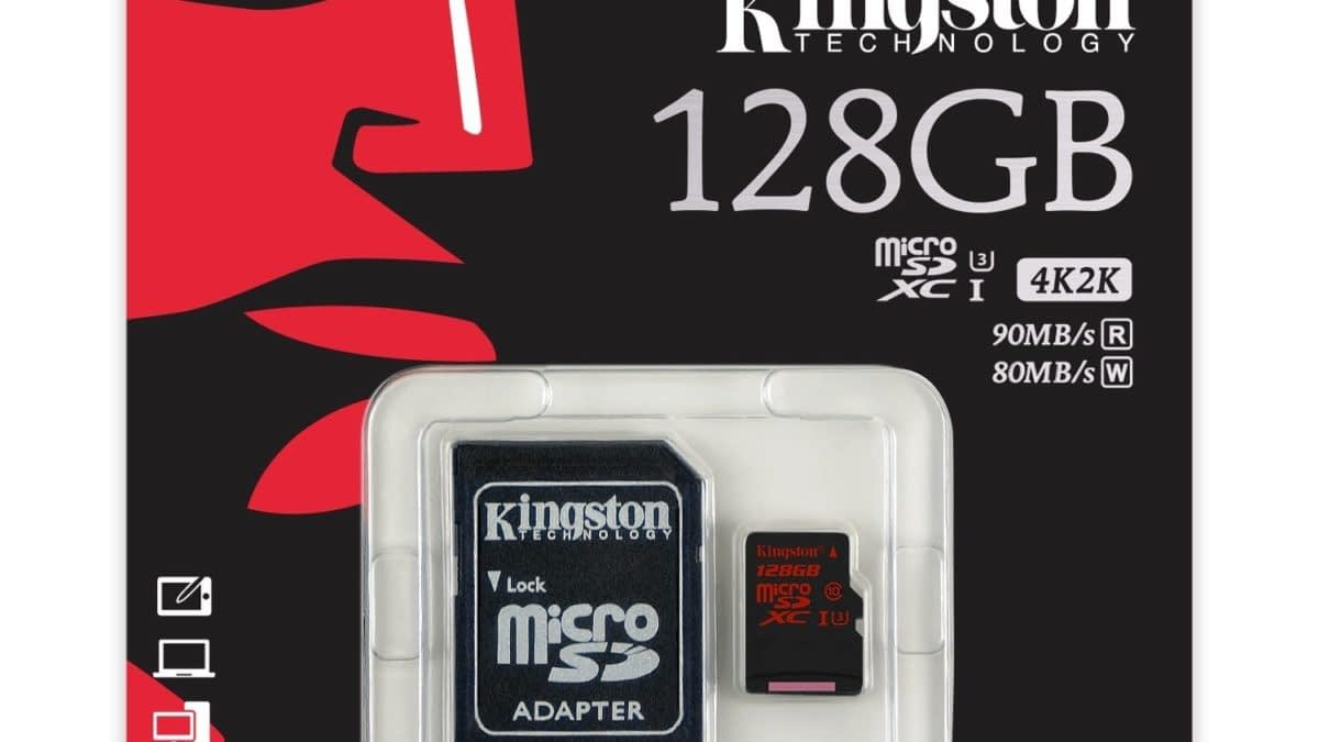The Quest For More Switch Memory: We Review Kingston Technology's 128GB microSDXC