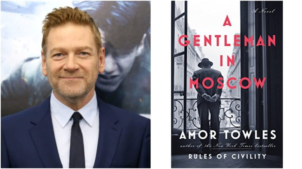 'Orient Express' Duo Kenneth Branagh, Mark Gordon Adapting 'A Gentleman in Moscow' for TV