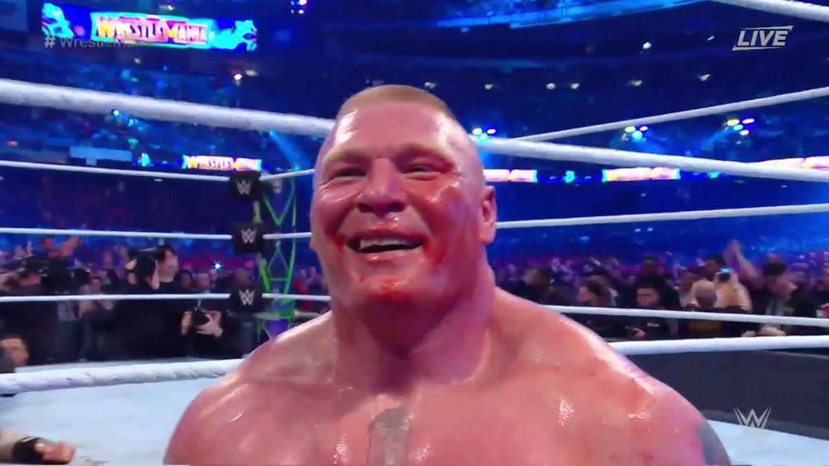 So... Roman Reigns vs. Brock Lesnar at WrestleMania 35?
