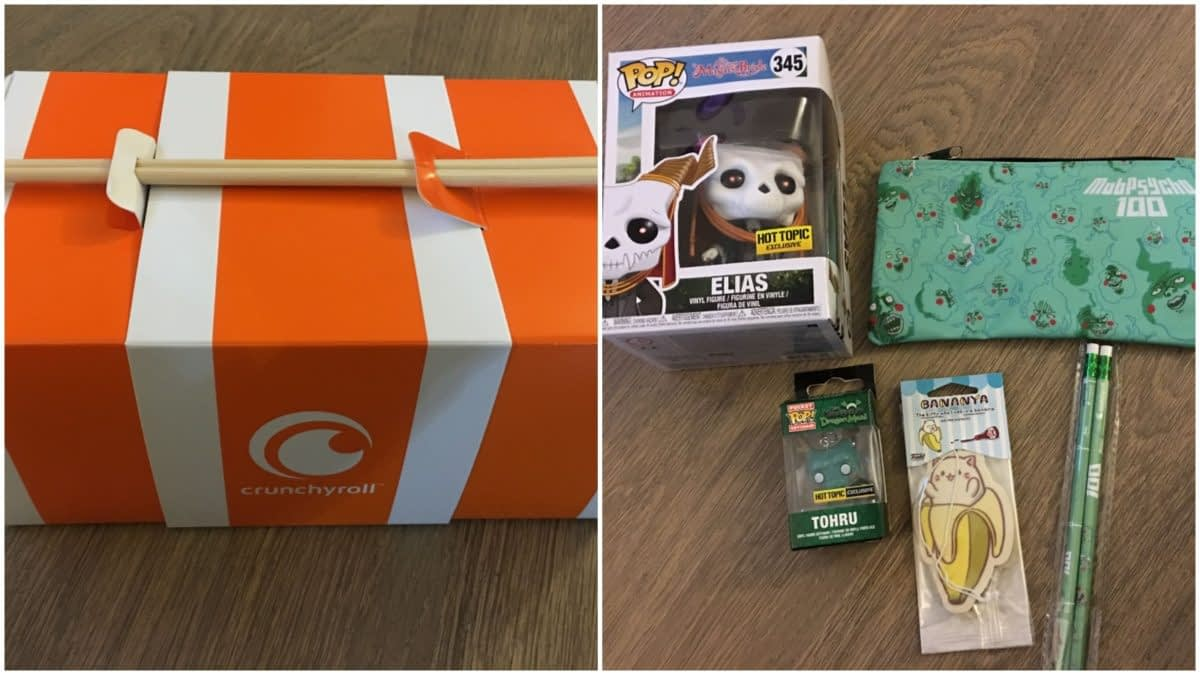 The Hot Topic Crunchyroll Box is a Great Way to Celebrate Ani-May