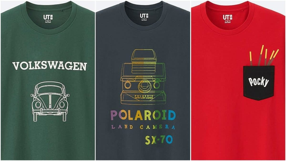 Wear Pocky and Polaroid with Pride: UNIQLO's Retro-Style 'The Brand' Line