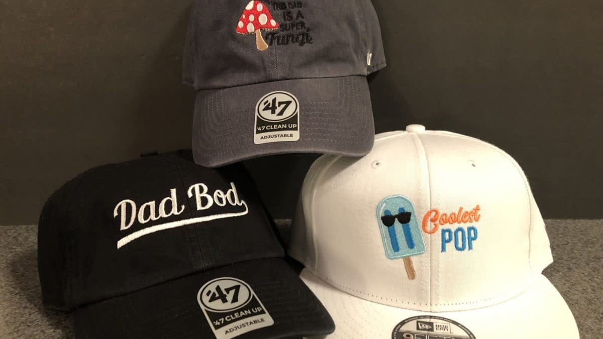 Lids Embroidered Hats Are a Great Last-Minute Father's Day Gift