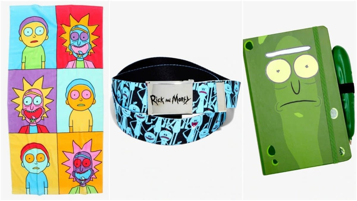 New Pickle-rific Rick and Morty Merchandise Lands at Hot Topic