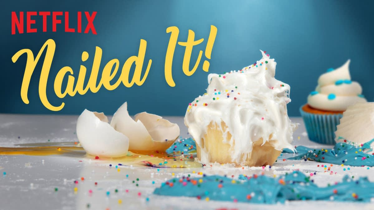 Netflix Cake Fails Series 'Nailed It!' is Back for Season 2