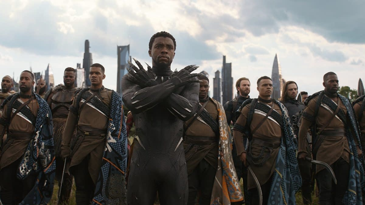 The 'Black Panther' Cast Improvised That Chant in 'Avengers: Infinity War'