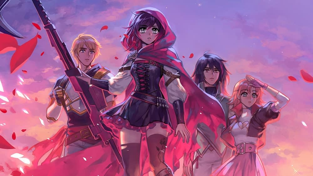 RWBY is Getting Its Own YA Book Series from Scholastic