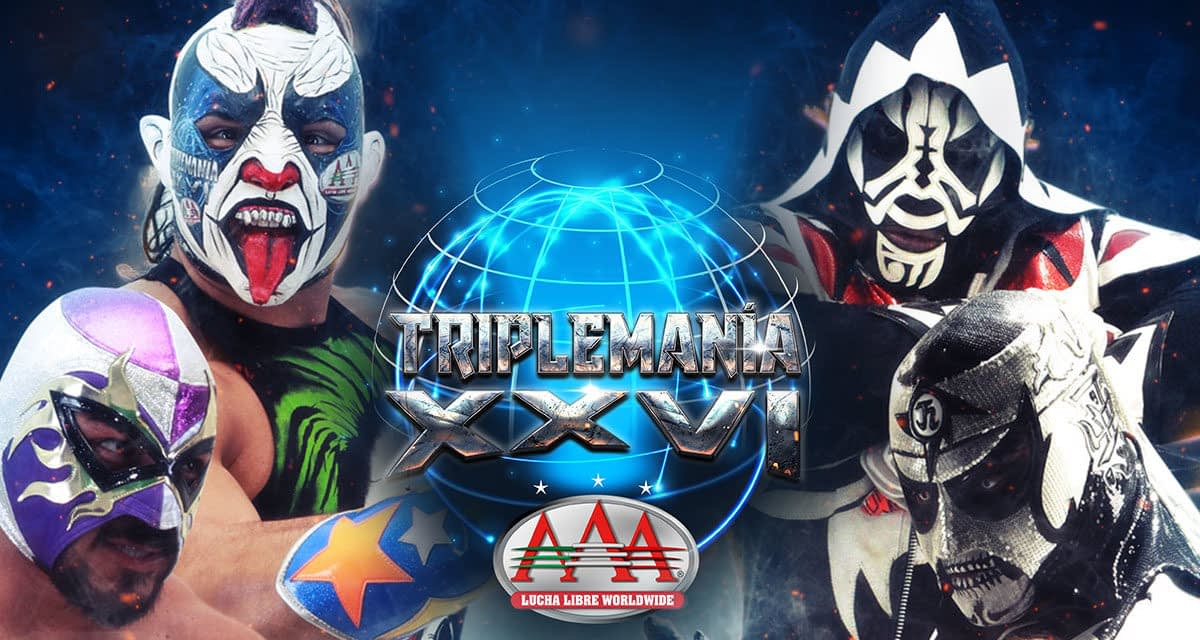 Twitch Will Stream AAA Lucha Libre Worldwide's Triplemania XXVI
