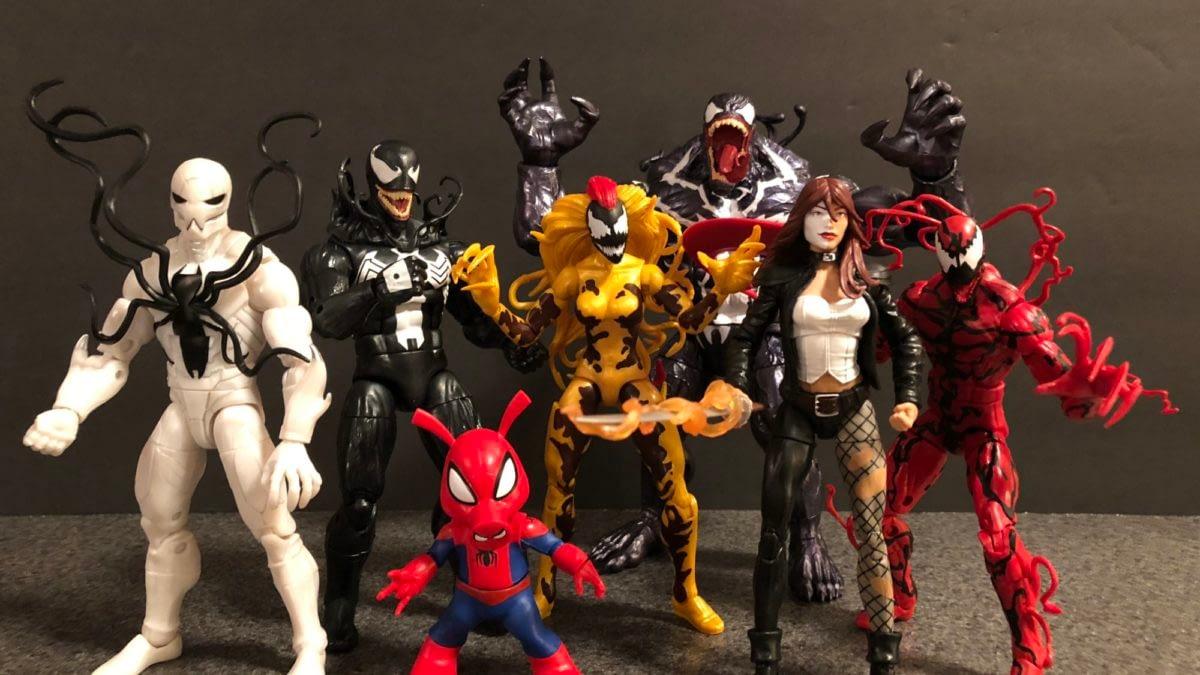 Let's Take a Look at the Marvel Legends Venom Wave