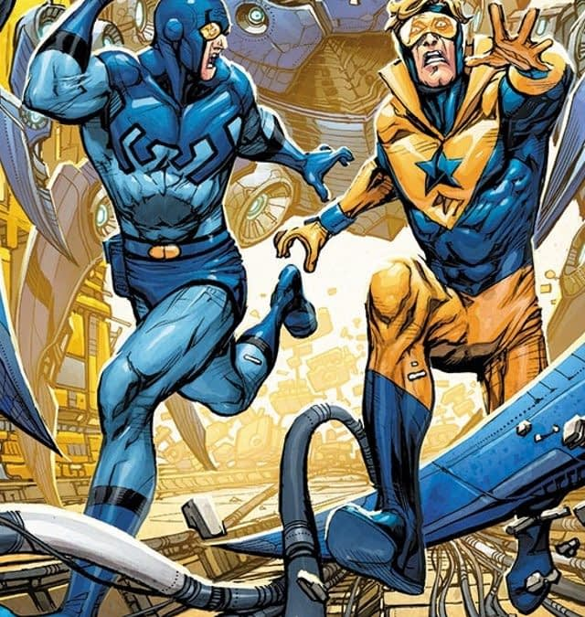 Blue Beetle and Booster Gold to Get Back Together in Heroes In Crisis