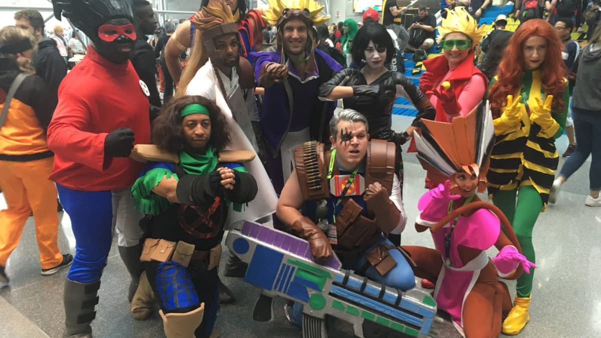 269 NYCC Cosplay Shots - From A 90s X-Force to a Topless Lady Deadpool