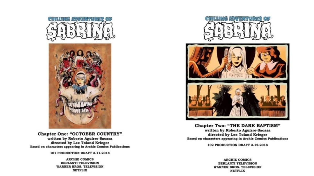 Chilling Adventures of Sabrina Season 1, Episode 1 'October Country'/Episode 2 'The Dark Baptism' Fights Fire With Hellfire (REVIEW)