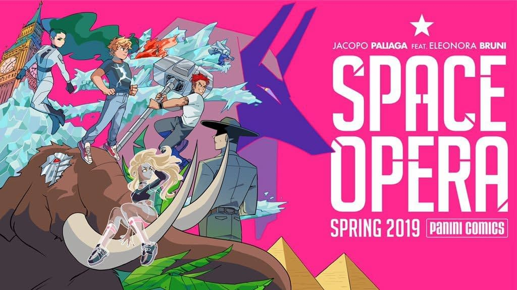 Space Opera - A Ballistic Teenage Adventure from Jacopo Paliaga and Eleonora Bruni for Spring 2019