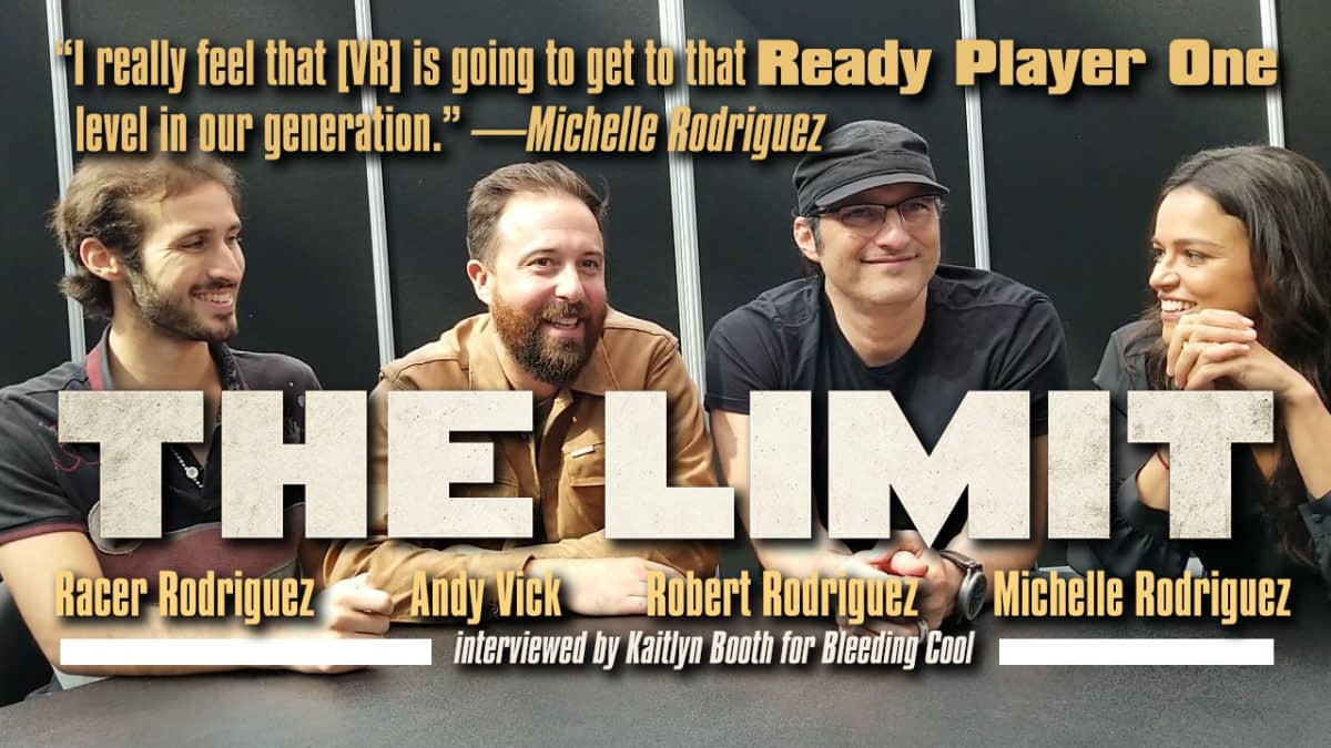 Interview with Robert Rodriguez and Michelle Rodriguez for the VR Film 'The Limit'