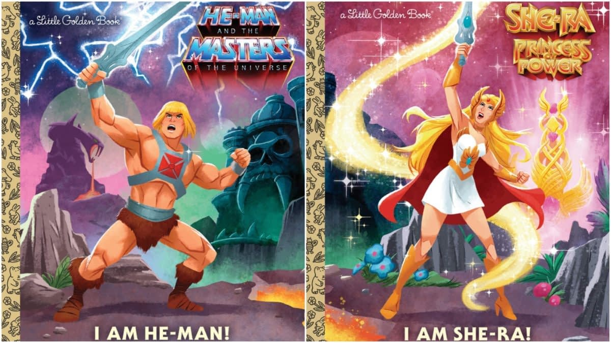 Masters of the Universe and She-Ra Golden Books Coming in 2019