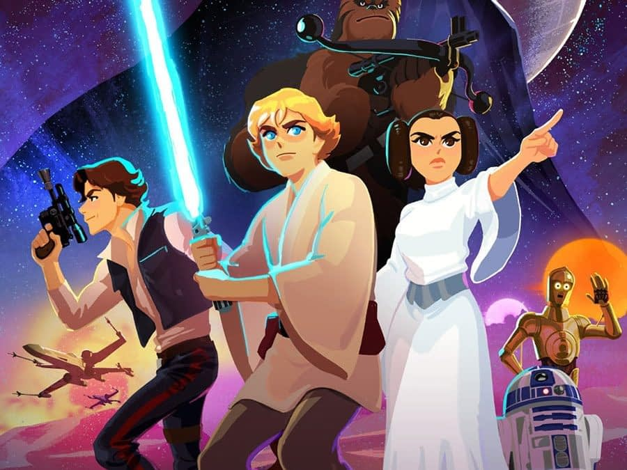 Check Out the First Six Episodes of Star Wars Galaxy of Adventures Now