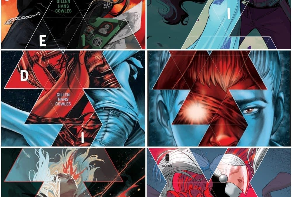 All the Retailer Variants for Kieron Gillen and Stephanie Hans' Die #1 Out This Wednesday