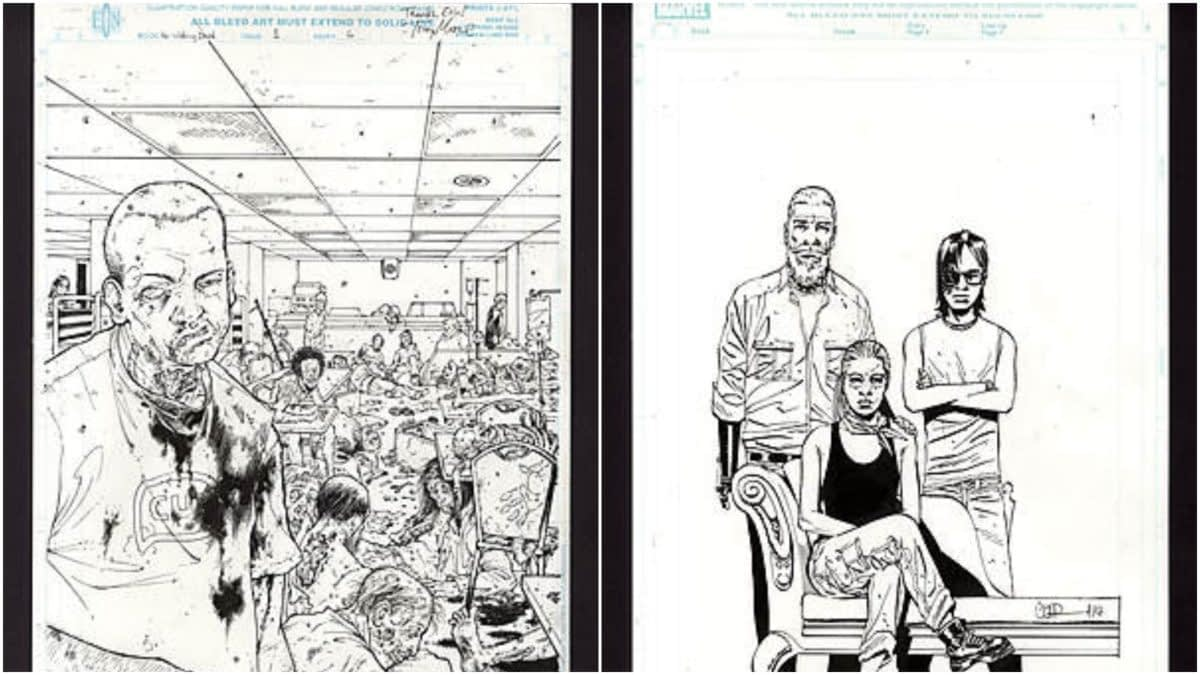 Walking Dead Fans: Do Not Miss Out on Comic Connect's Art Auction Ending Soon