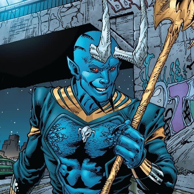 Blue Devil in DC Universe's Swamp Thing Was News to Co-Creator Dan Mishkin